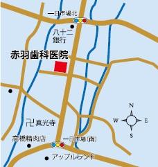赤羽歯科医院地図
