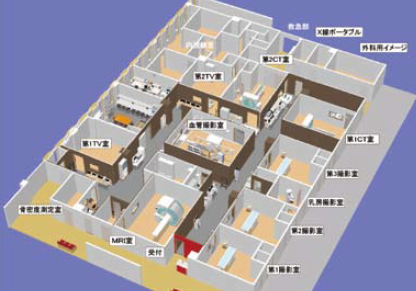 放射線科部の画像