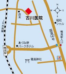 古川医院地図