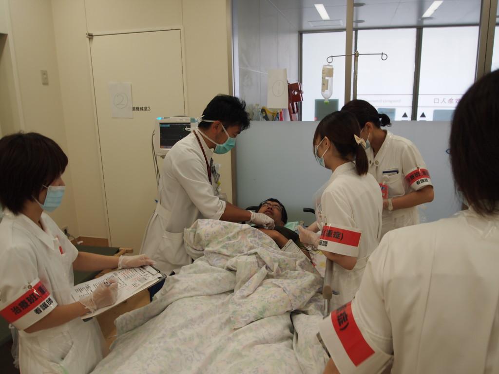 平成25年度多数傷病者受入訓練を実施