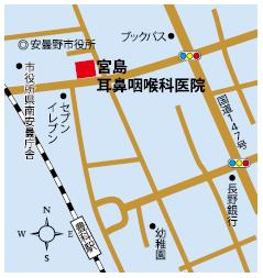 宮島耳鼻咽喉科医院地図