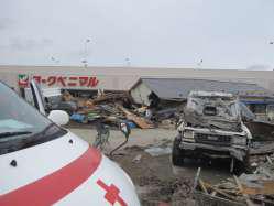 被災した町の様子②の写真
